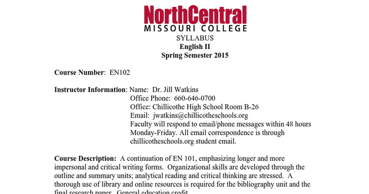 English 102 Syllabus.doc