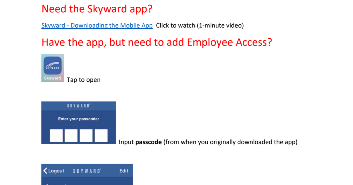 Skyward App Access.pdf