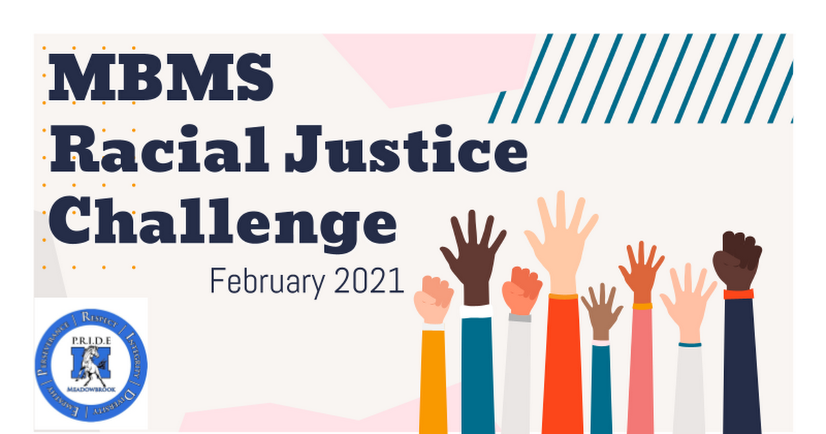 MBMS Racial Justice Challenge