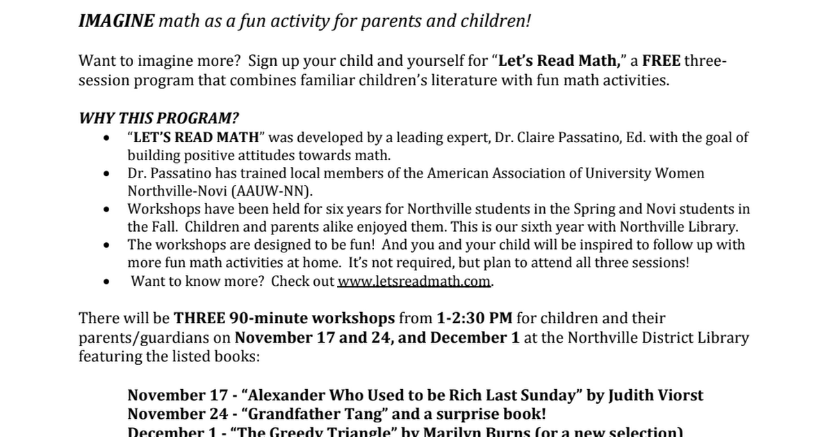 Schools - Northville fall LRM 2018 Flyer and Registration.pdf