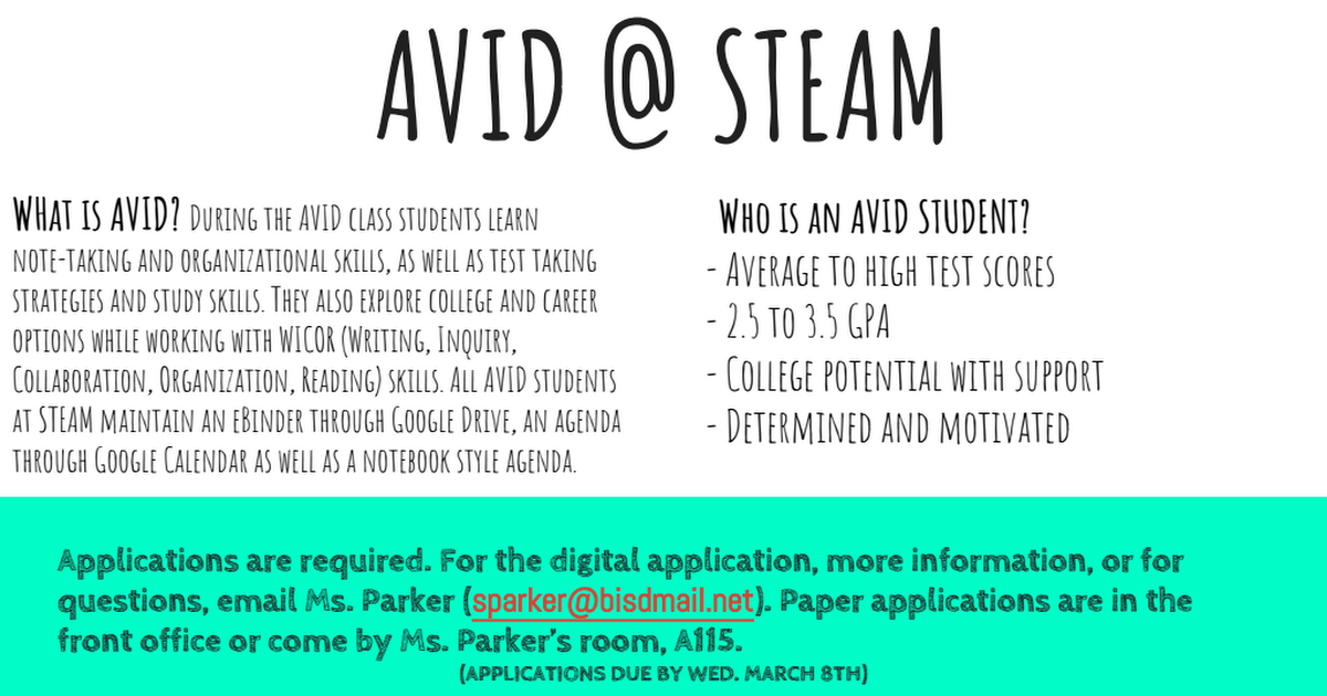 FINAL Newsletter AVID @ STEAM (1).pdf