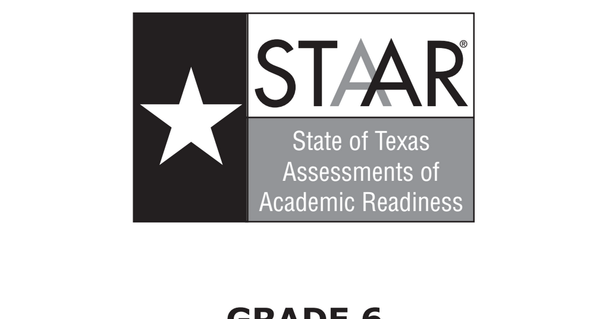 STAAR Reading 6th Grade