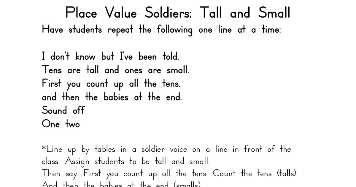 Place Value Soldiers.pdf