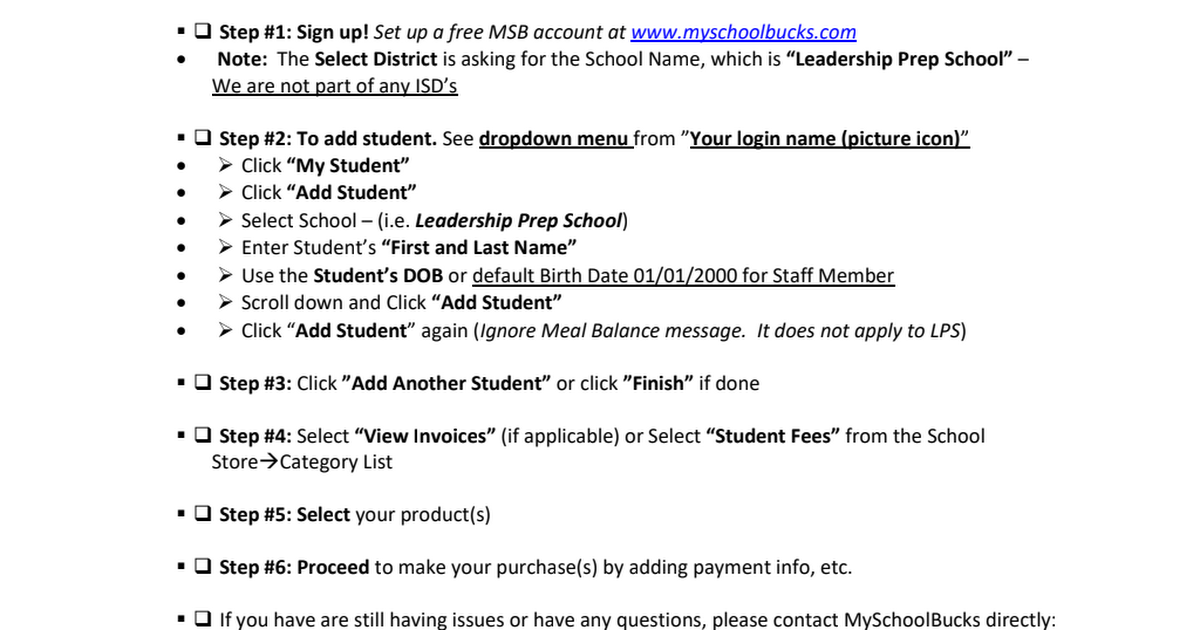 MySchoolBucks Instructions.pdf
