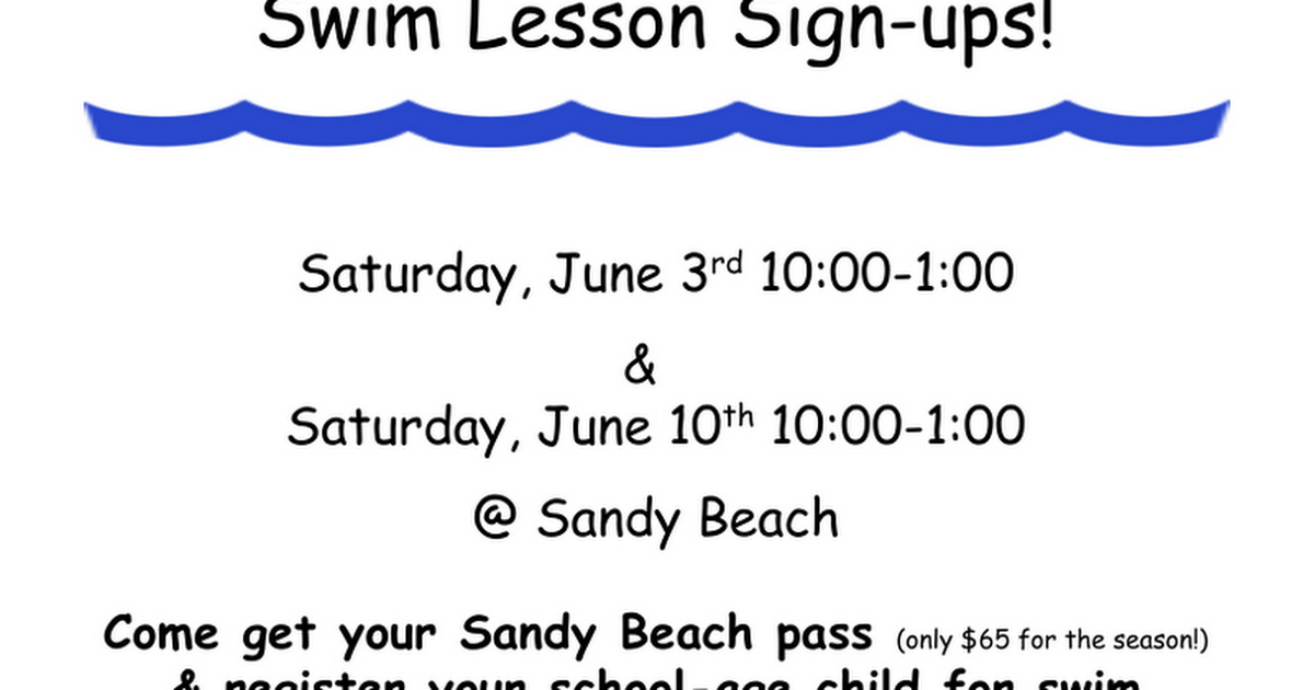 SANDY BEACH swim lesson flyer 2017.doc