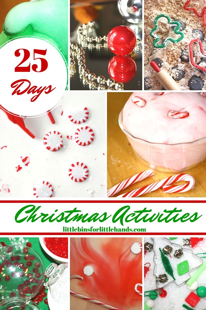Christmas Sensory Play Activities for Kids
