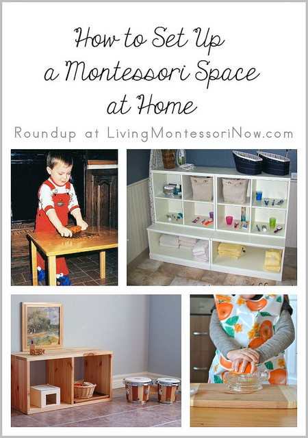 How to Set Up a Montessori Space at Home