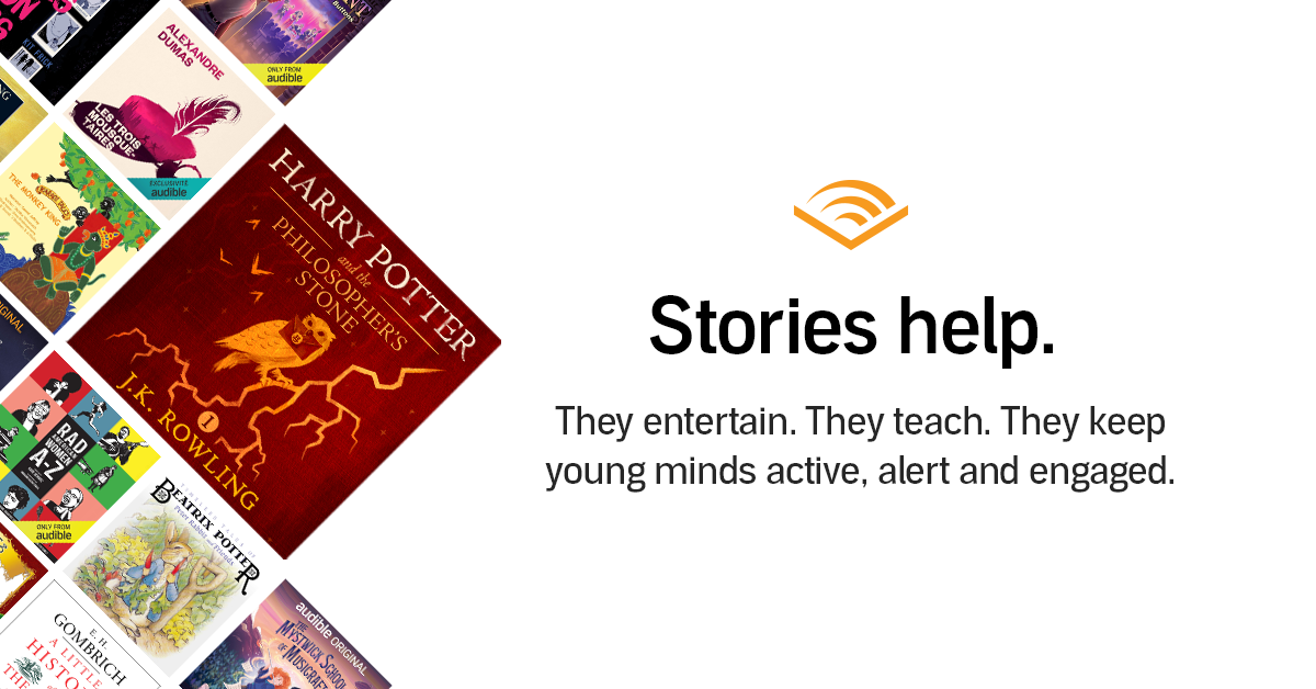 Audible Stories | Audible.com
