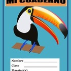 Back to School -Mi Cuaderno- Interactive Notebook -Vocabulary for Spanish I & II