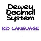 Dewey Decimal Introduction Elementary