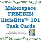 Library Makerspace littleBits (TM) Task Cards