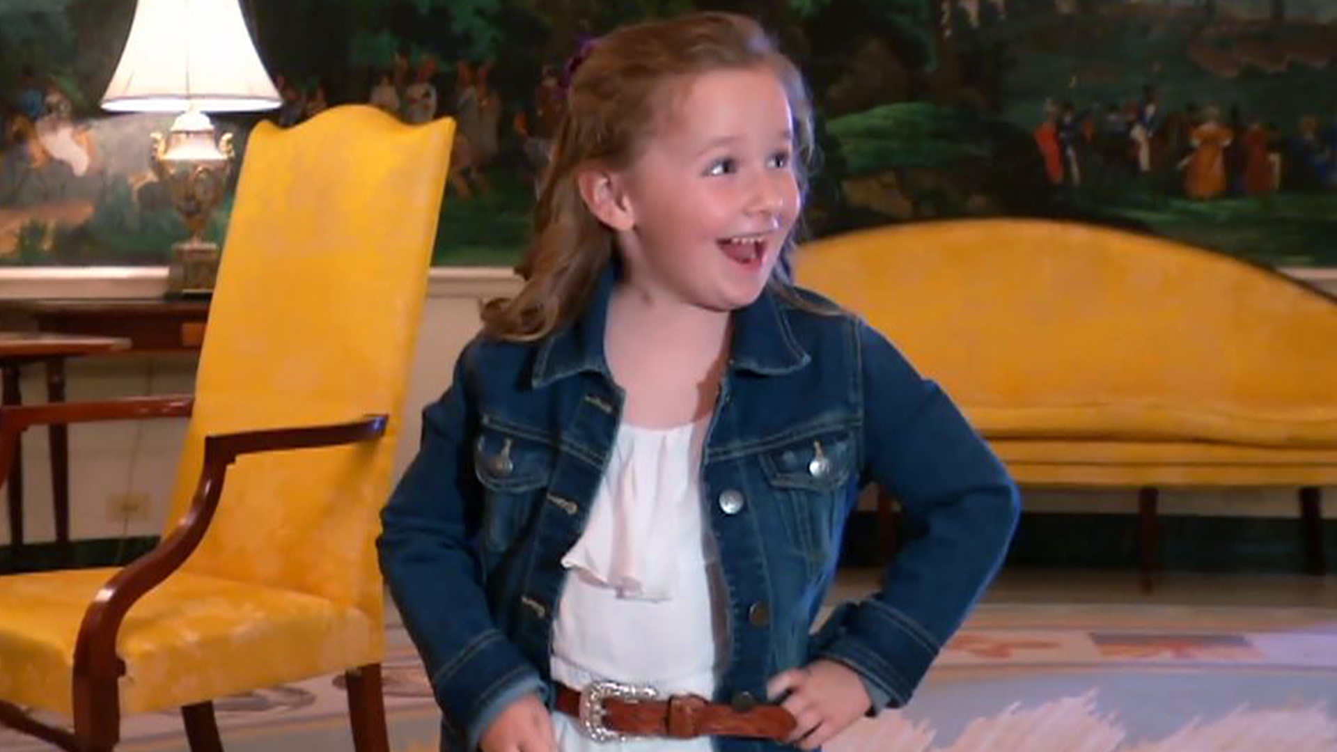 Watch Ellen give this adorable White House expert, 5, 'best day ever'