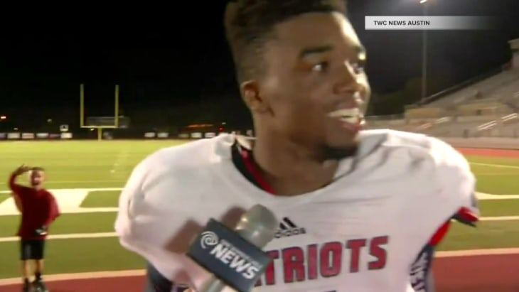 HS football player gives the most inspiring speech