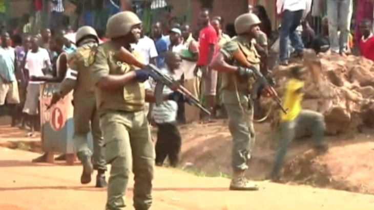 Christians attack Muslims in Central African Republic