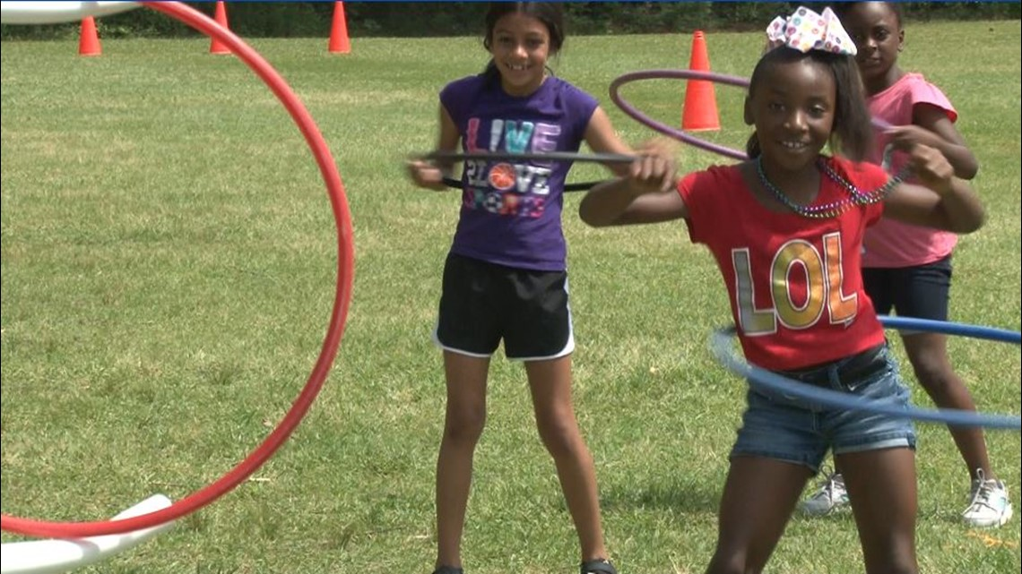 Springdale Elementary celebrates reading 250 million words with field day