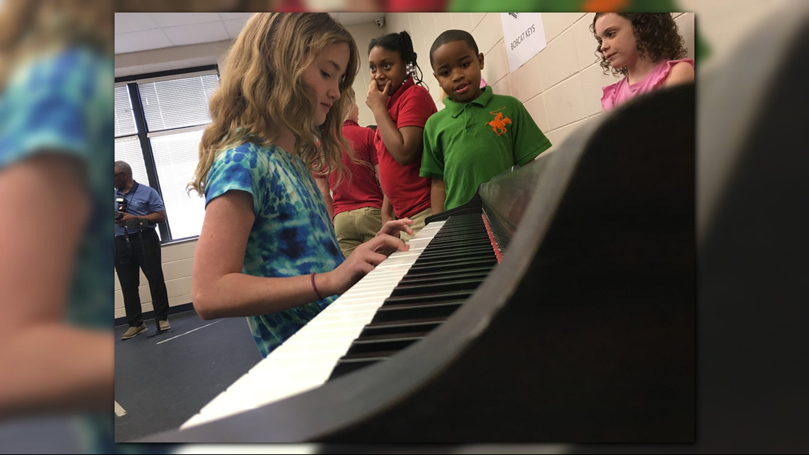 Georgia College music majors to teach Wilkinson County Elementary students piano lessons