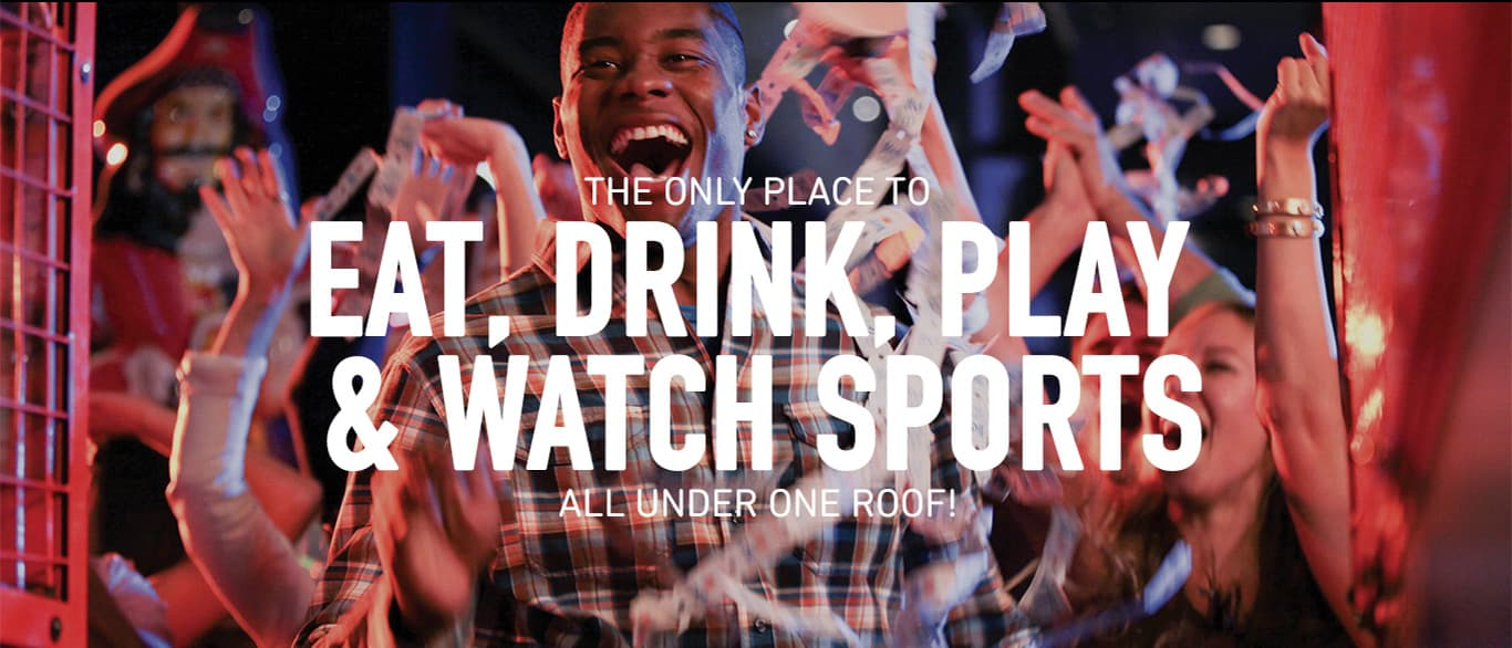 Dave & Buster's - Eat, Drink, Play & Watch Sports® all Under One Roof!