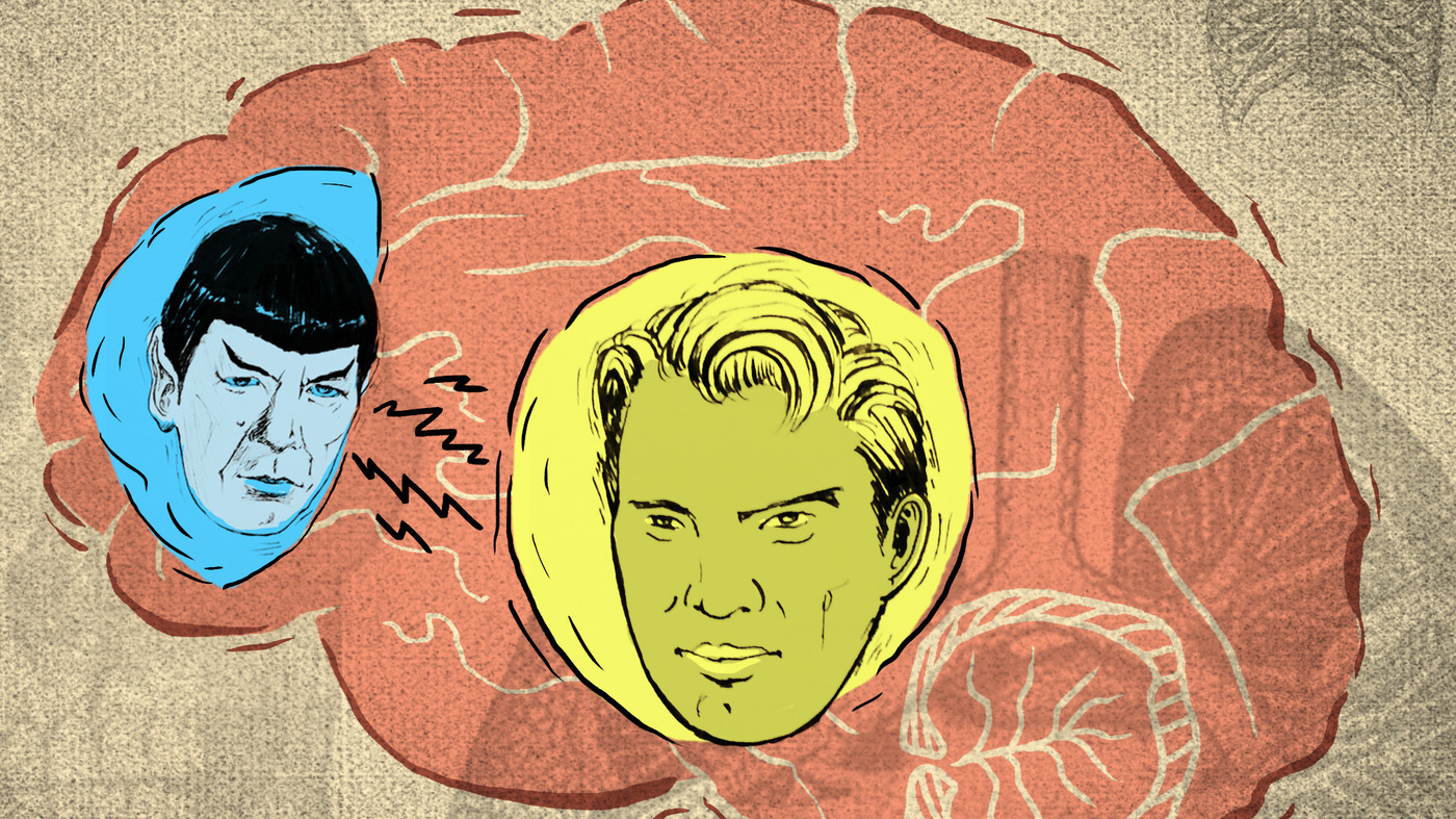 The Teenage Brain: Spock Vs. Captain Kirk
