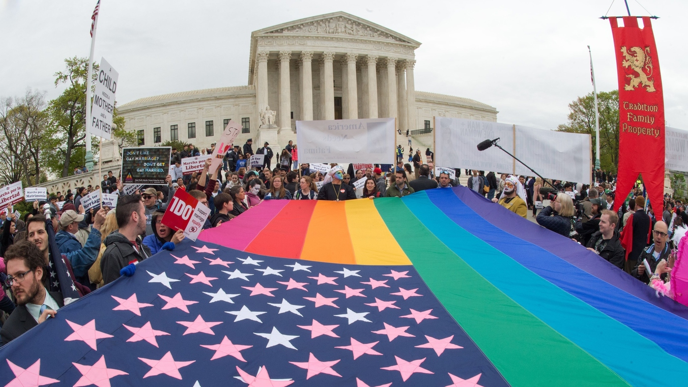 Legal Battle Over Gay Marriage Hits The Supreme Court Tuesday