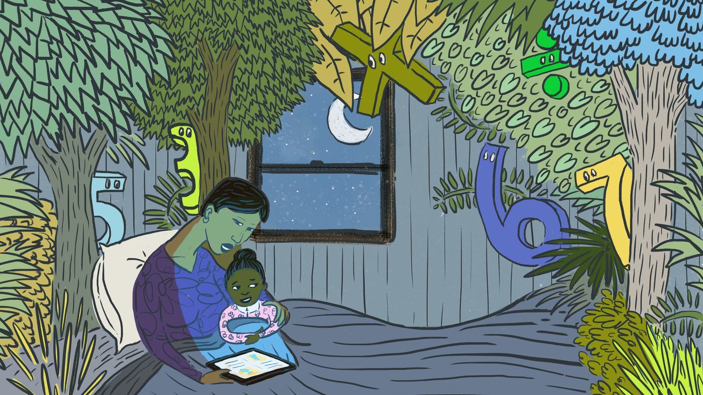 Where The Wild Fractions Are: The Power Of A Bedtime (Math) Story