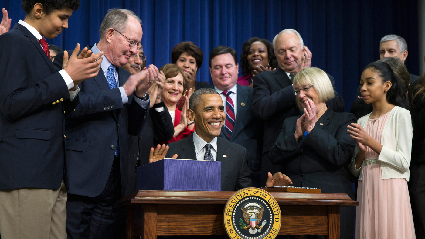 President Obama Signs Education Law, Leaving 'No Child' Behind