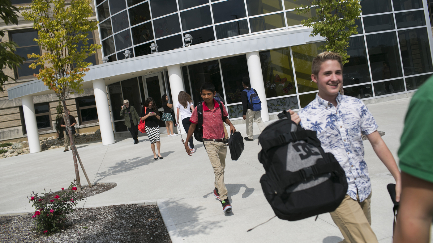 A City Looks To STEM School To Lift Economy, But Will Grads Stay?