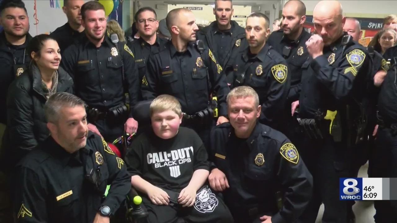 Viral post inspires birthday parade for Webster boy