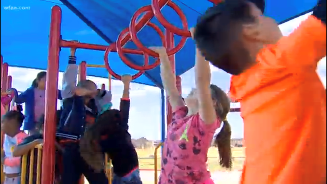 Districts having frequent recess to improve classroom focus