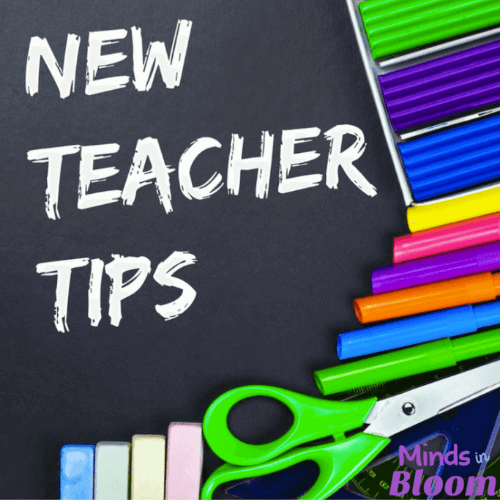 New Teacher Tips - Minds in Bloom