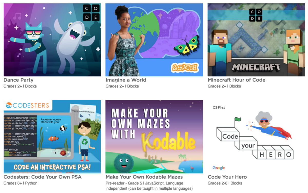 100 new Hour of Code tutorials are here!
