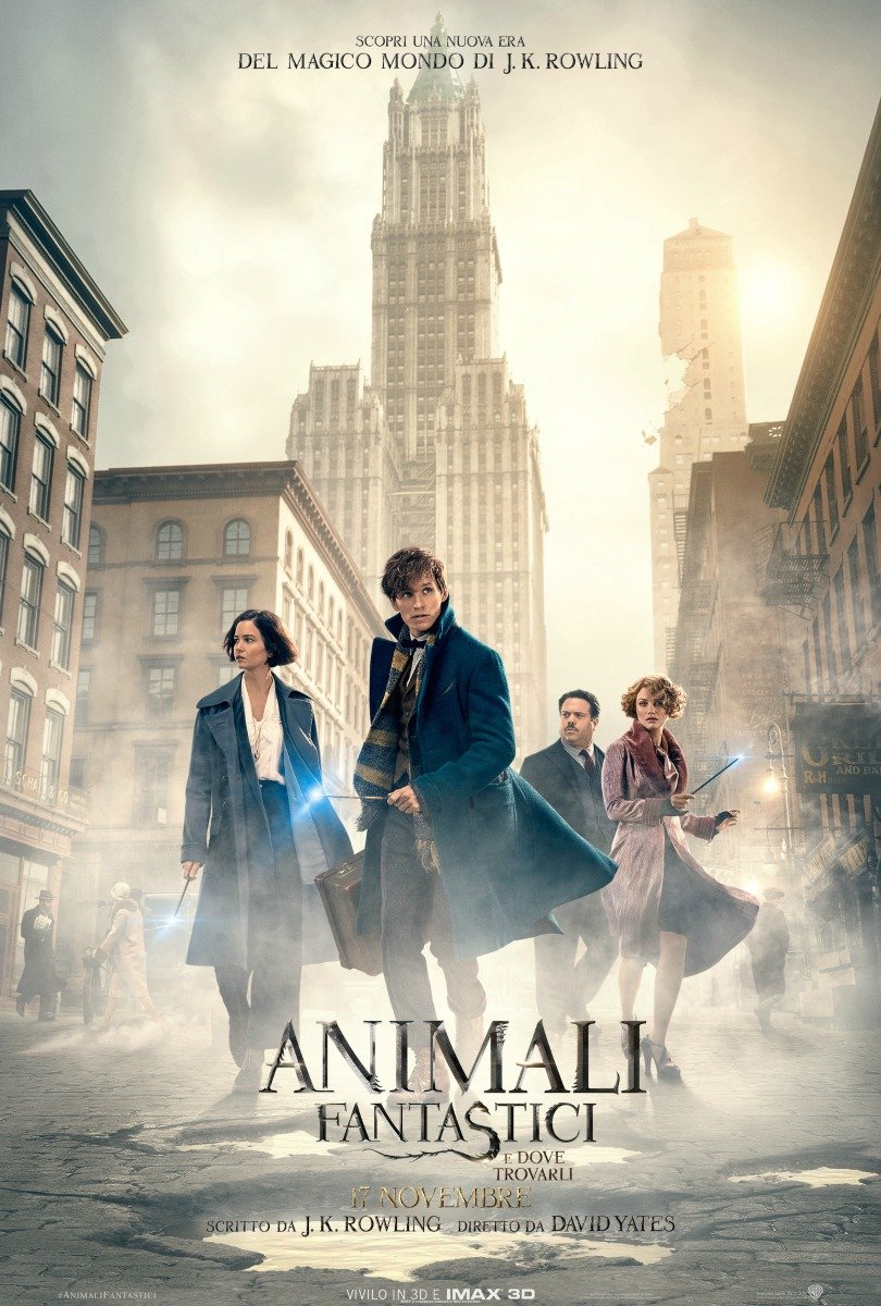 Animali Fantastici e dove trovarli - Film (2016)