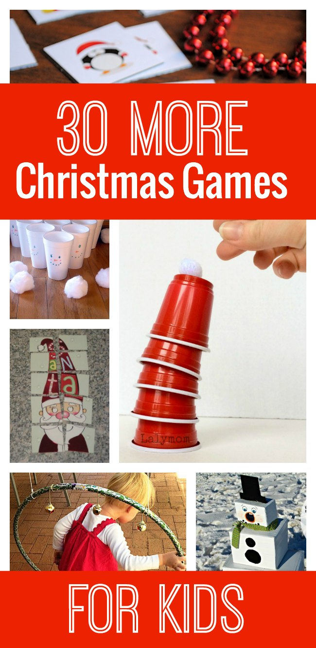 30 More Awesome Christmas Games for Kids