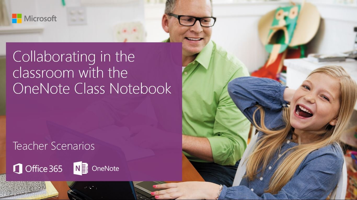 Collaborating in the classroom with the OneNote Class Notebook