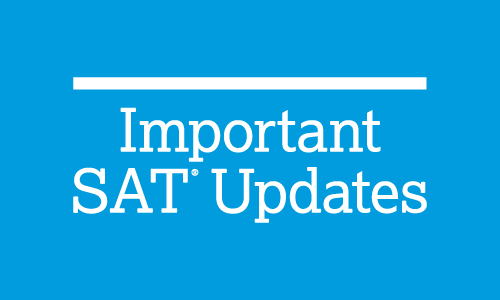 Coronavirus SAT and PSAT-Related Updates