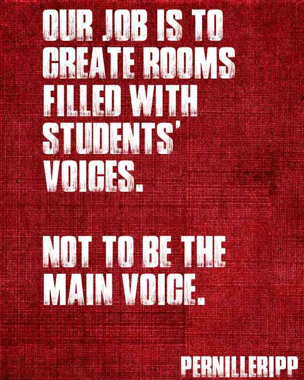 Enough with the Teacher Talk- Ideas for Getting More Student Talk