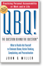 Best Seller QBQ! The Question Behind the Question book