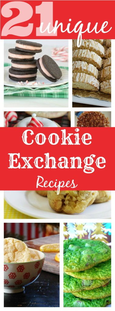21 Unique Holiday Cookie Exchange Recipes