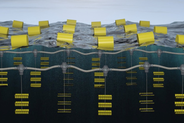 World's 1st successful wave energy array! Atmocean