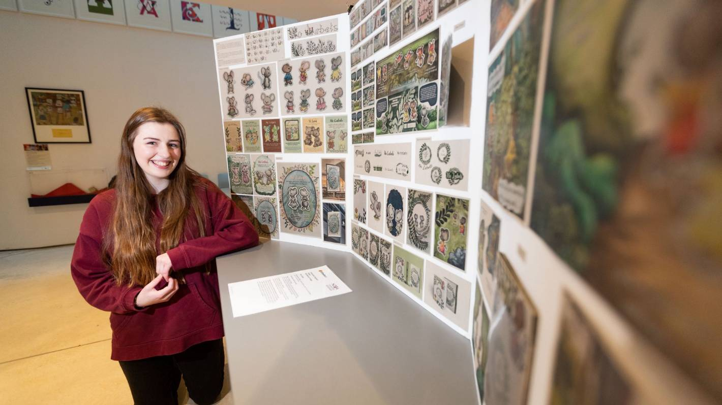 Former students' artworks displayed at Govett-Brewster Art Gallery