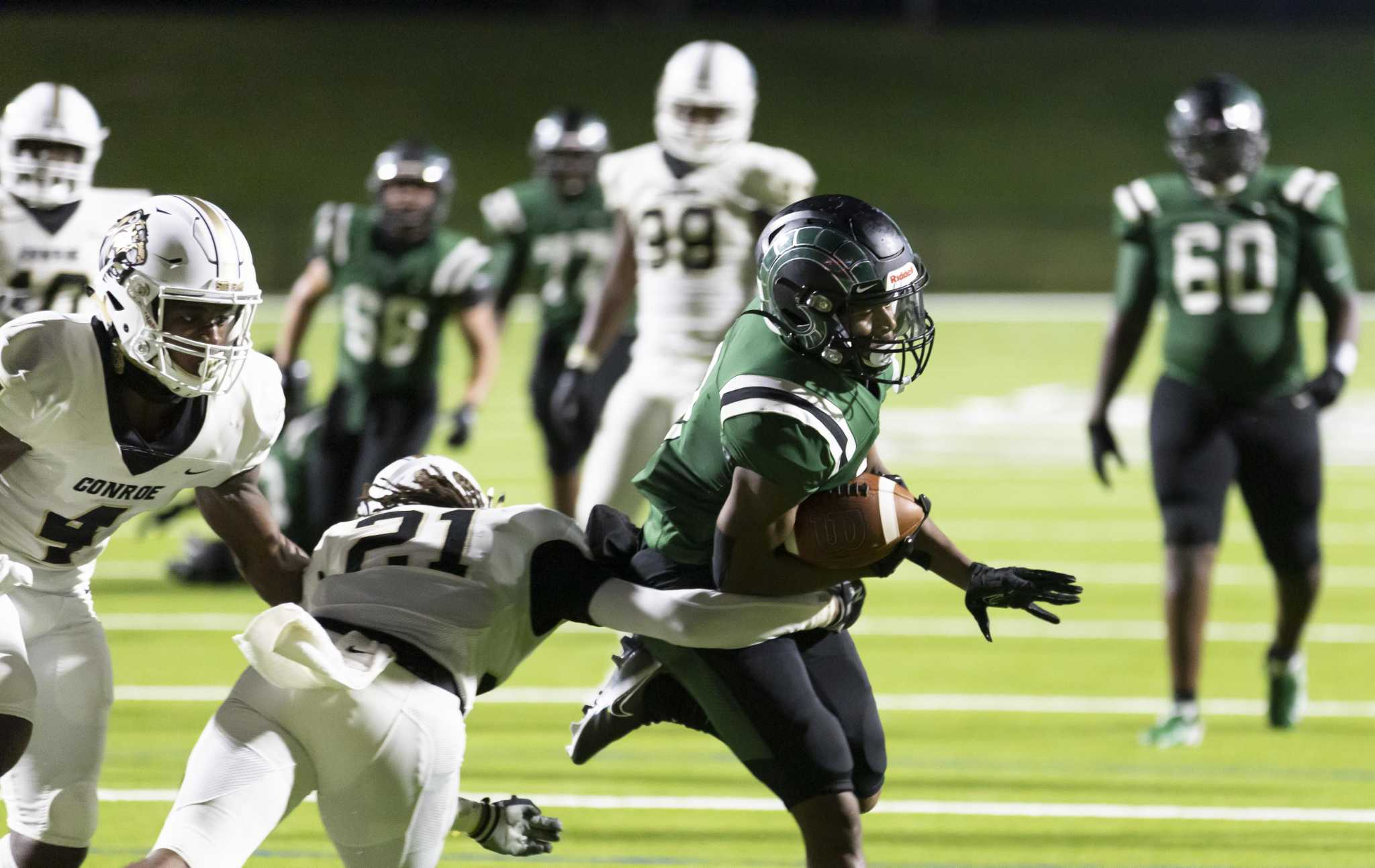 FOOTBALL: Mayde Creek outlasts Conroe in opener