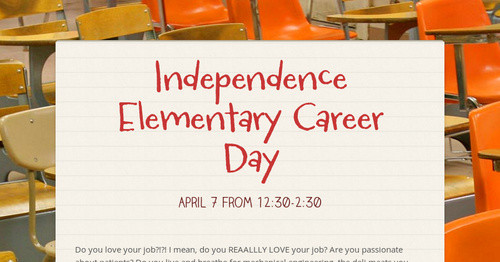 Independence Elementary Career Days