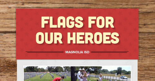 Flags For Our Heroes