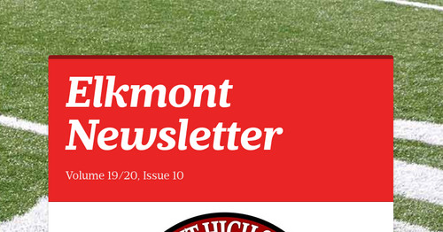 Elkmont  Newsletter