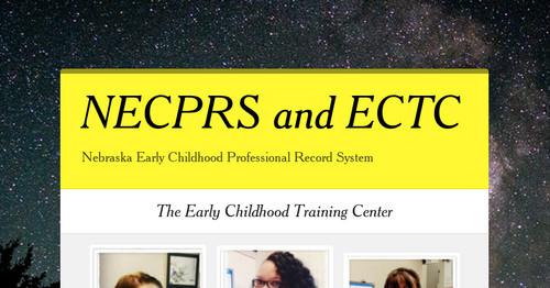 NECPRS and ECTC