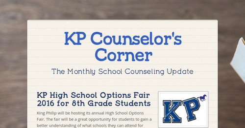 KP High School Options Fair 2016