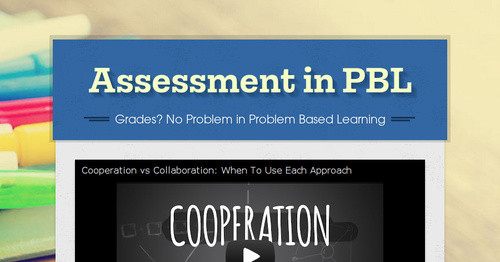 Assessment in PBL
