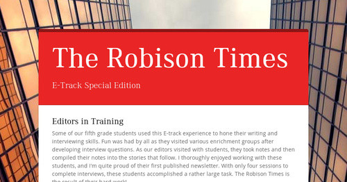 The Robison Times