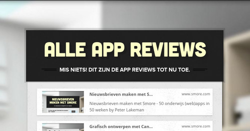 Alle app reviews