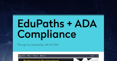EduPaths + ADA Compliance