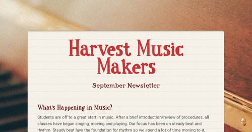 Harvest Music Makers